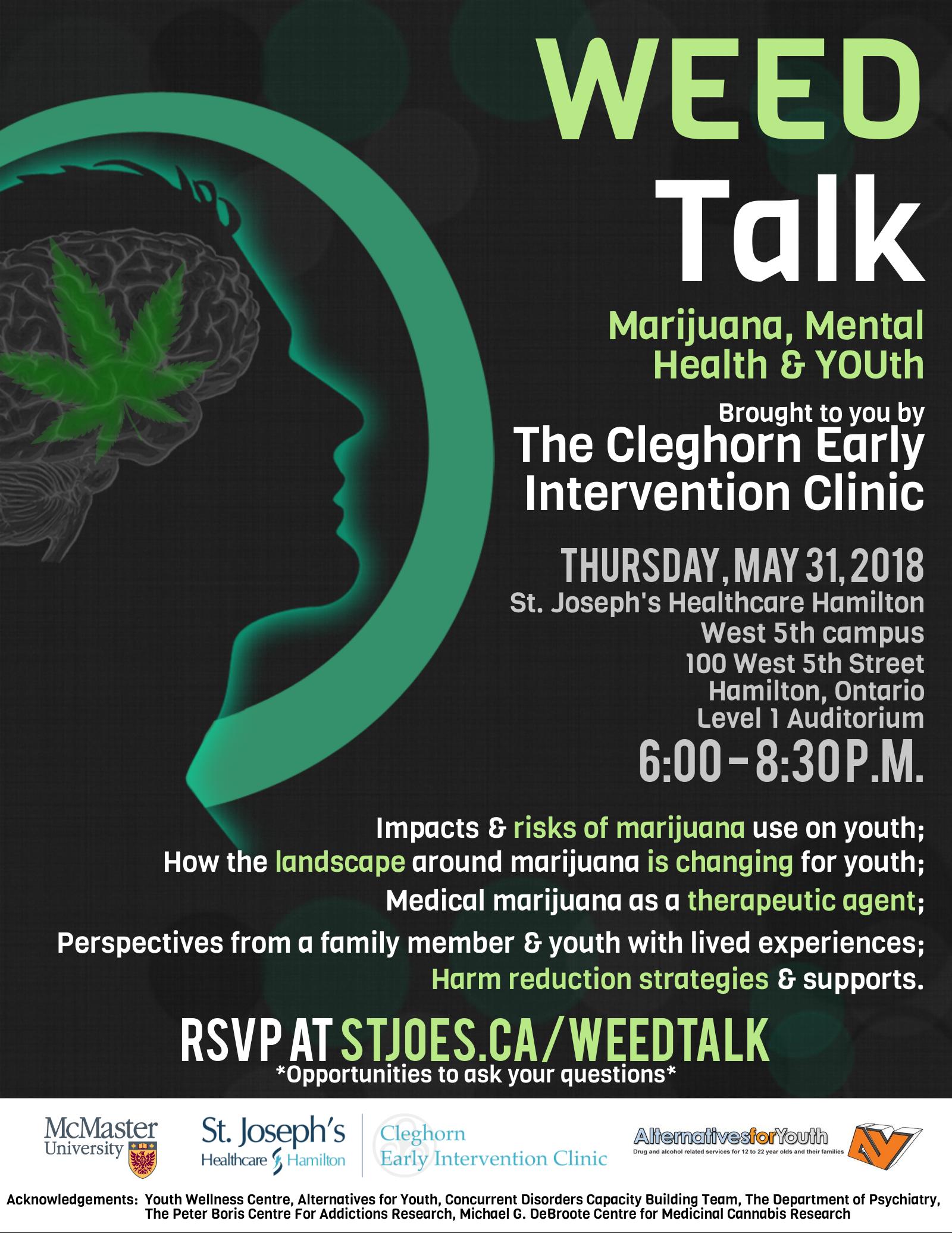 WEED Talk: May 31, 2018